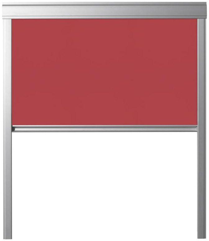 Roleta zaciemniająca DUR M6A 4213 Czerwona 78 x 118 cm CONTRIO