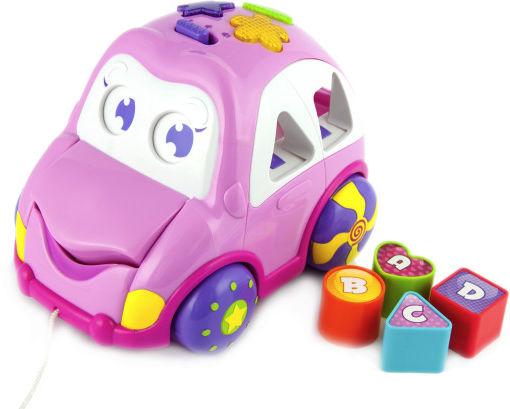 Auto Wesołek Smily Play Pink
