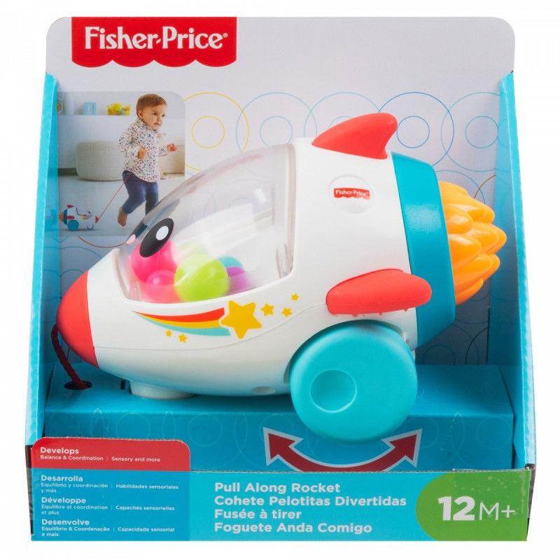 Fisher-Price Wesoła rakieta do nauki raczkowania GCV74