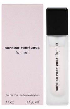 Narciso Rodriguez For Her For Her 30 ml zapach do włosów dla kobiet zapach do włosów + do każdego zamówienia upominek.
