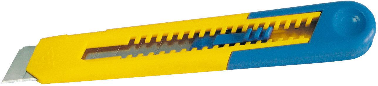 Nożyk, ostrze łamane 18mm, korpus abs