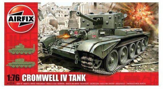 Czołg Cromwell Mk.IV Cruiser model do sklejania Airfix