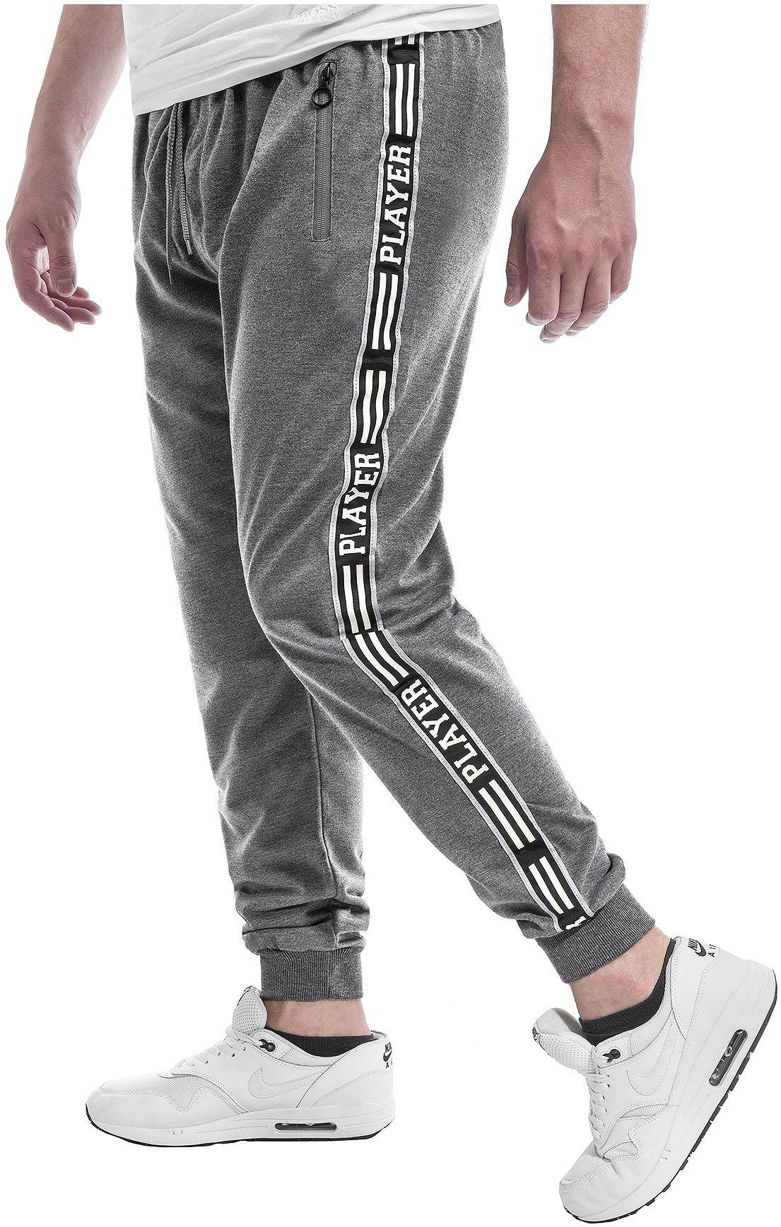 Wyprzedaż joggery dresowe NH253 - antracytowe