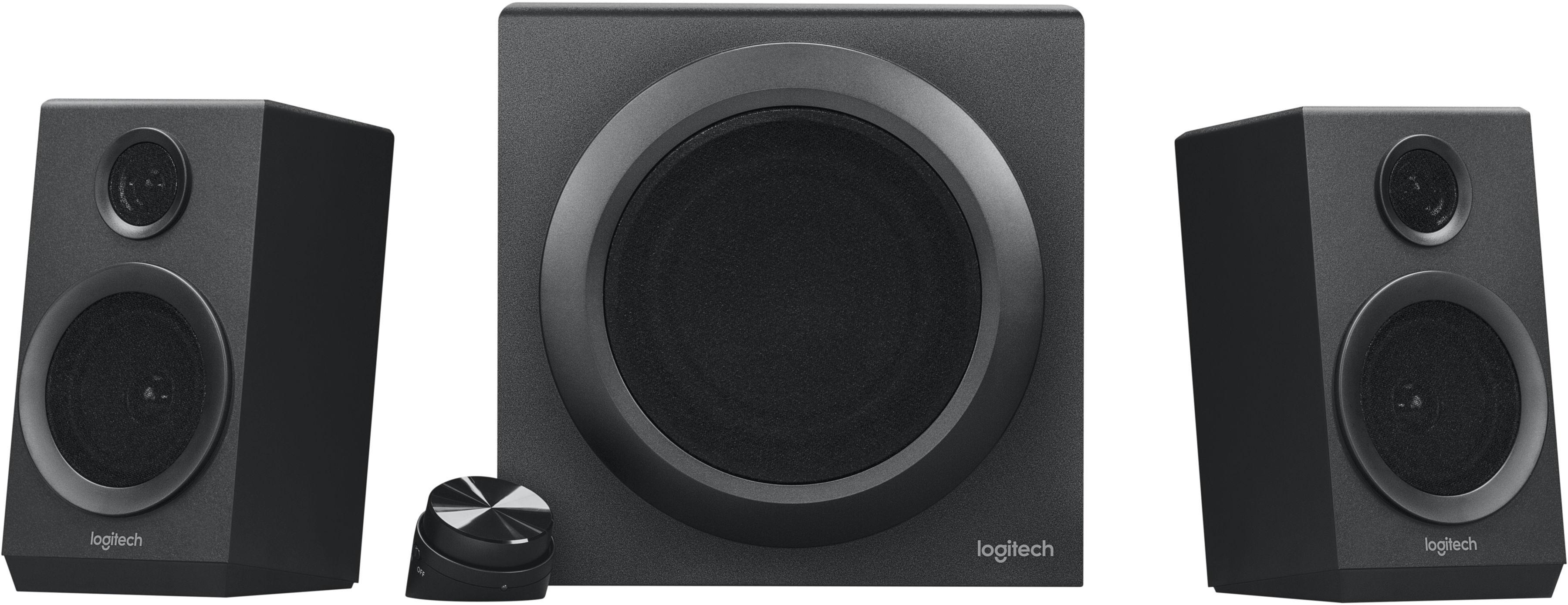 Logitech 980-001202 Z333 2.1 channels 40 W Universal black 80 W Wired