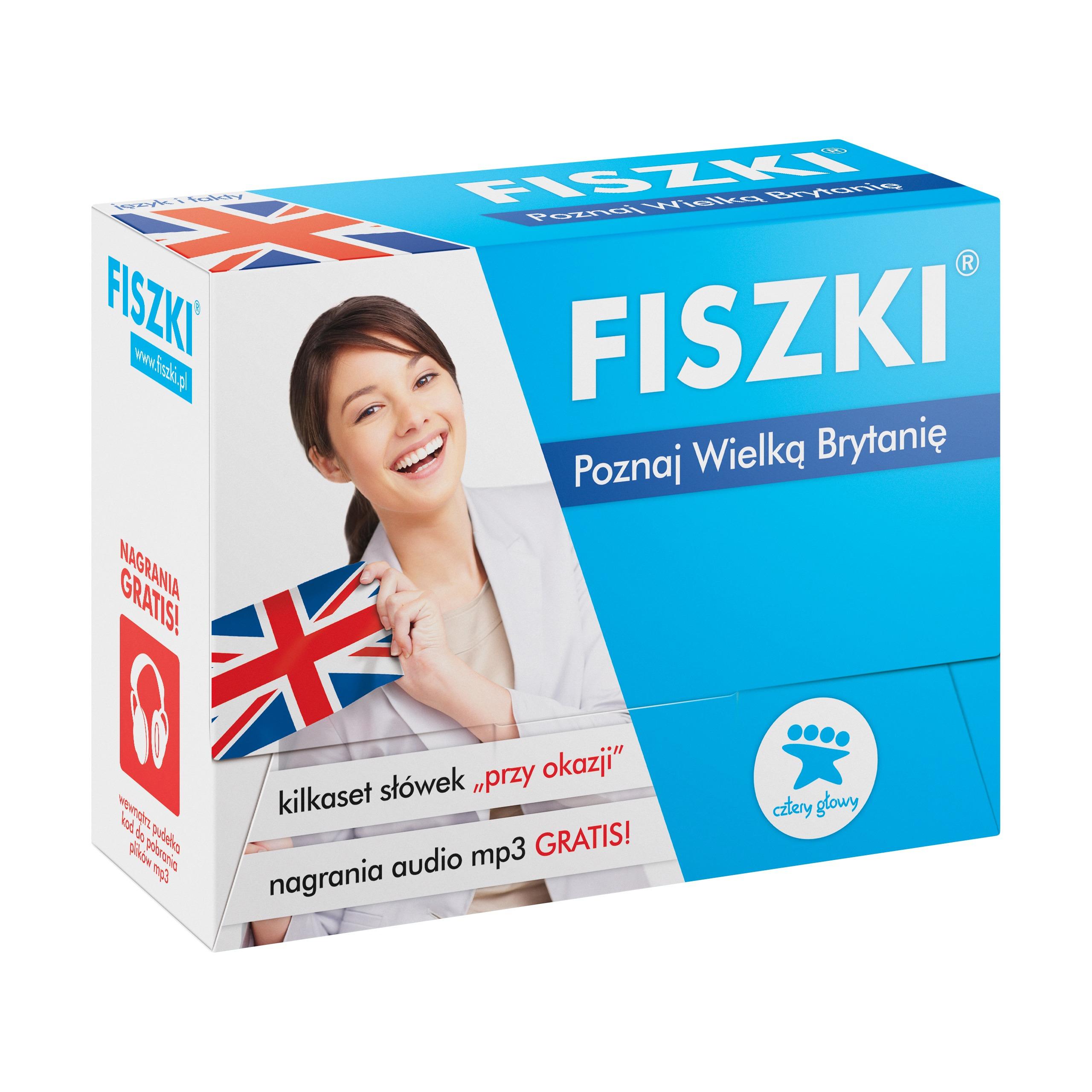 FISZKI - angielski - Poznaj Wielką Brytanię