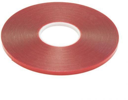 Taśma akrylowa przezroczysta 19mm x 33m gr. 0,5 mm