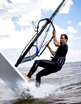 Windsurfing dla dwojga  Półwysep Helski