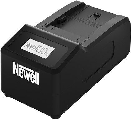 Ładowarka Newell Ultra Fast do Sony seria NP-F, NP-FM