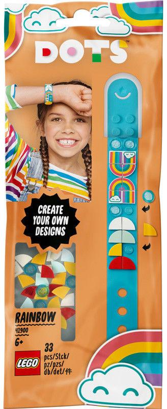 LEGO Dots 41900 Bransoletka z Tęczą