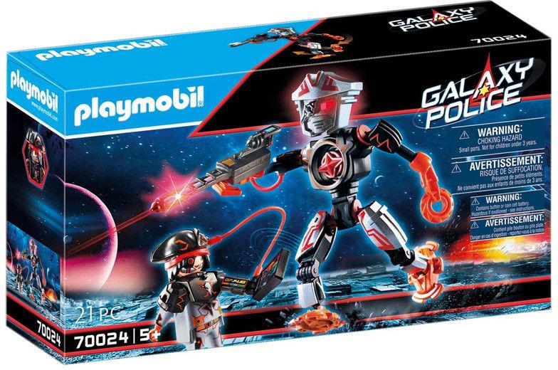 Playmobil - Galaxy Robot piratów 70024