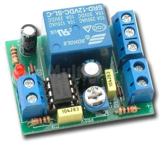 Przekaźnikowy wyłącznik czasowy (do montażu)