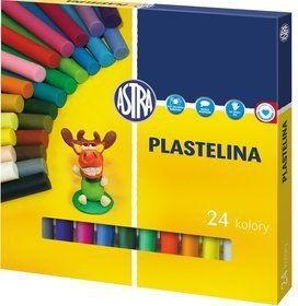 Plastelina 24 kolory ASTRA 303110001