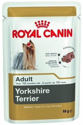 ROYAL CANIN Yorkshire Terrier Adult 12x85g karma mokra - pasztet, dla psów dorosłych rasy yorkshire terrier