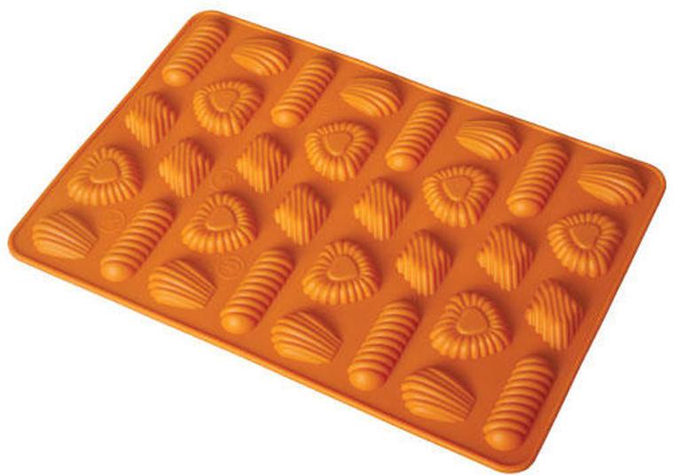 Forma silikonowa do pieczenia ciasteczek -mix kształtów