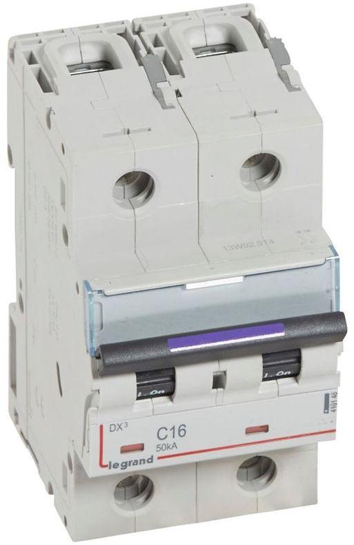Wyłącznik nadprądowy 2P C 16A 50kA S322 DX3 410148