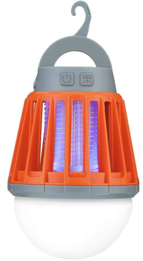 LIGHTING MOSQUITO BUSTER - Lampa LED z wbudowaną elektryczną pułapką na komary
