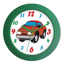 Zegar ścienny kolor samochód