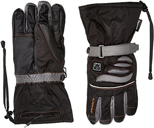 Alpenheat Fire Glove ogrzewane rękawice narciarskie, snowboardowe lub motocyklowe, czarne, L, AG2