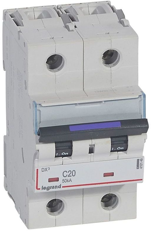 Wyłącznik nadprądowy 2P C 20A 50kA S322 DX3 410149