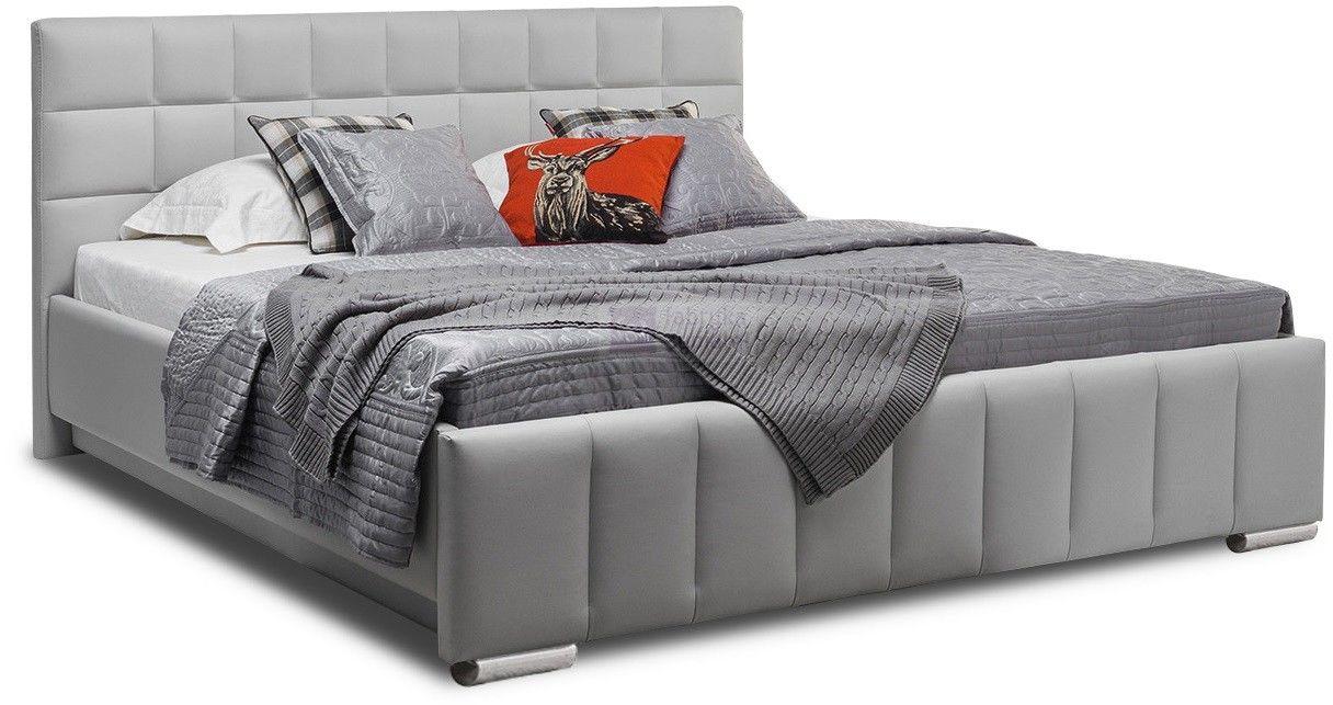 Łóżko KALIPSO H z pojemnikiem na pościel tapicerowane