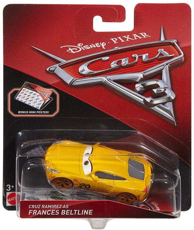 Mattel - Auta 3 Cars Cruz Ramirez DXV47