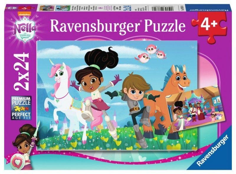 Puzzle 2x24 el Nella - Przygody