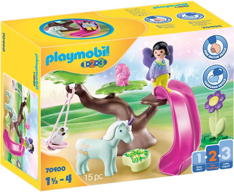 Playmobil - Plac zabaw wróżek 70400
