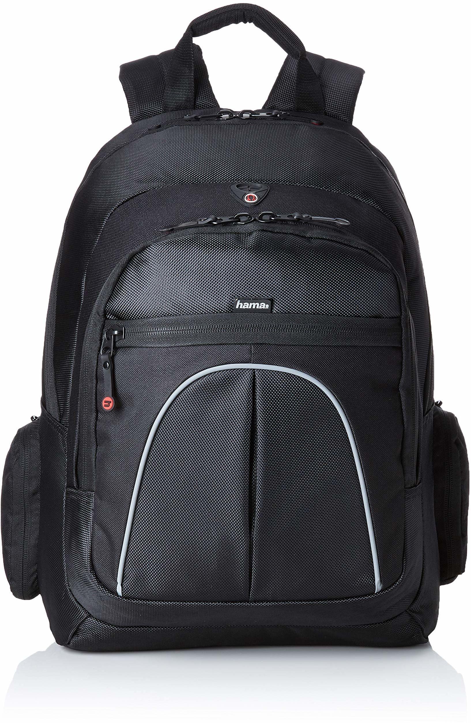 """Hama Plecak na laptopa do urządzeń do 40 cm (15,6"""") """"Vienna"""" (kieszeń na laptop, wyściełany, uchwyt do noszenia, kieszenie boczne, czarny"""