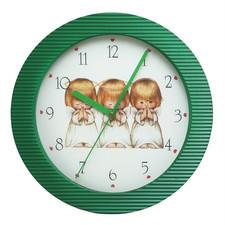 Zegar naścienny kolor Aniołki