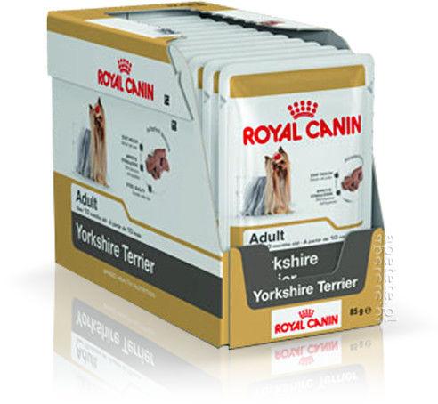 ROYAL CANIN Yorkshire Terrier Adult 24x85g karma mokra - pasztet, dla psów dorosłych rasy yorkshire terrier