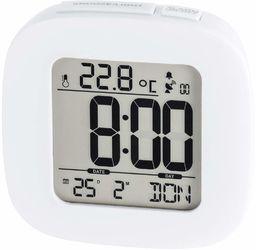 Hama RC 45 budzik, cyfrowy wyświetlacz LCD, niebieski, AAA, 78 mm