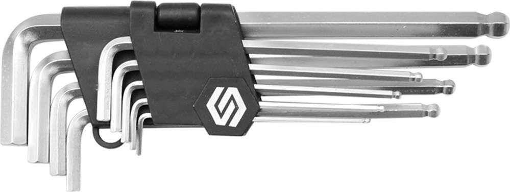 Klucze sześciokątne /hex/ 2-10mm, cr-v, kpl. 9 szt. Vorel 56477 - ZYSKAJ RABAT 30 ZŁ