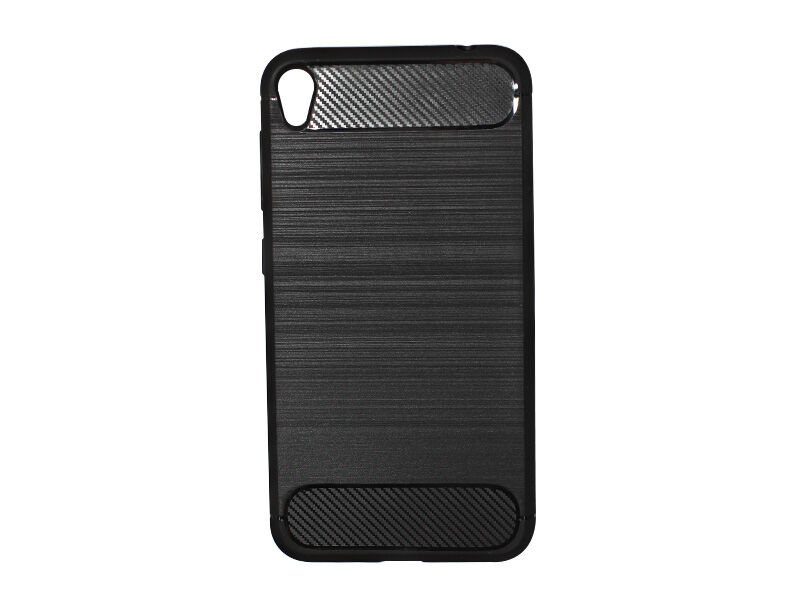 Asus Zenfone Live (ZB501KL) - etui na telefon Forcell Carbon - czarny