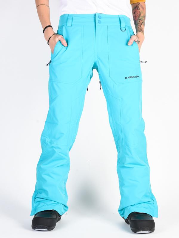ARMADA LENOX INSULATED Peacock blue męskie spodnie snowboardowe - M