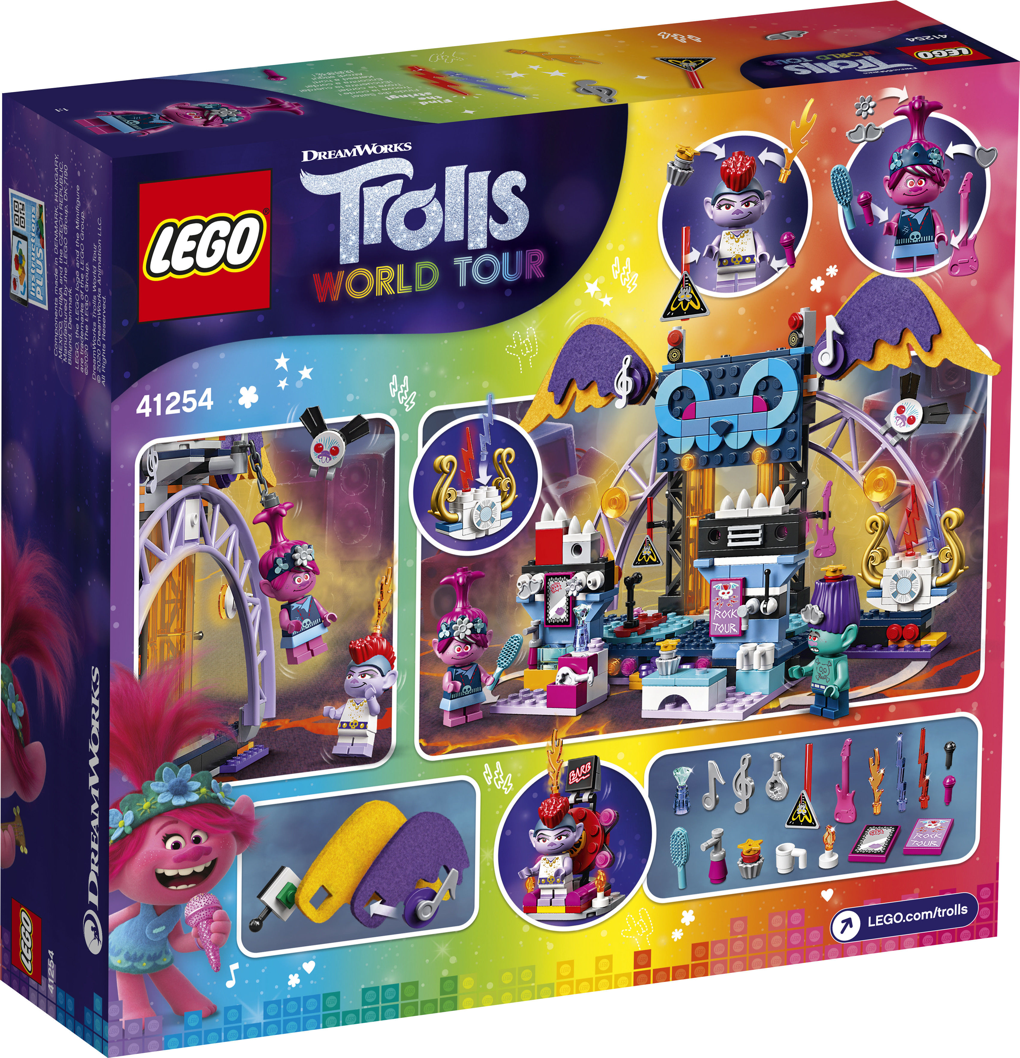 LEGO Trolls 41254 Koncert w Volcano Rock City