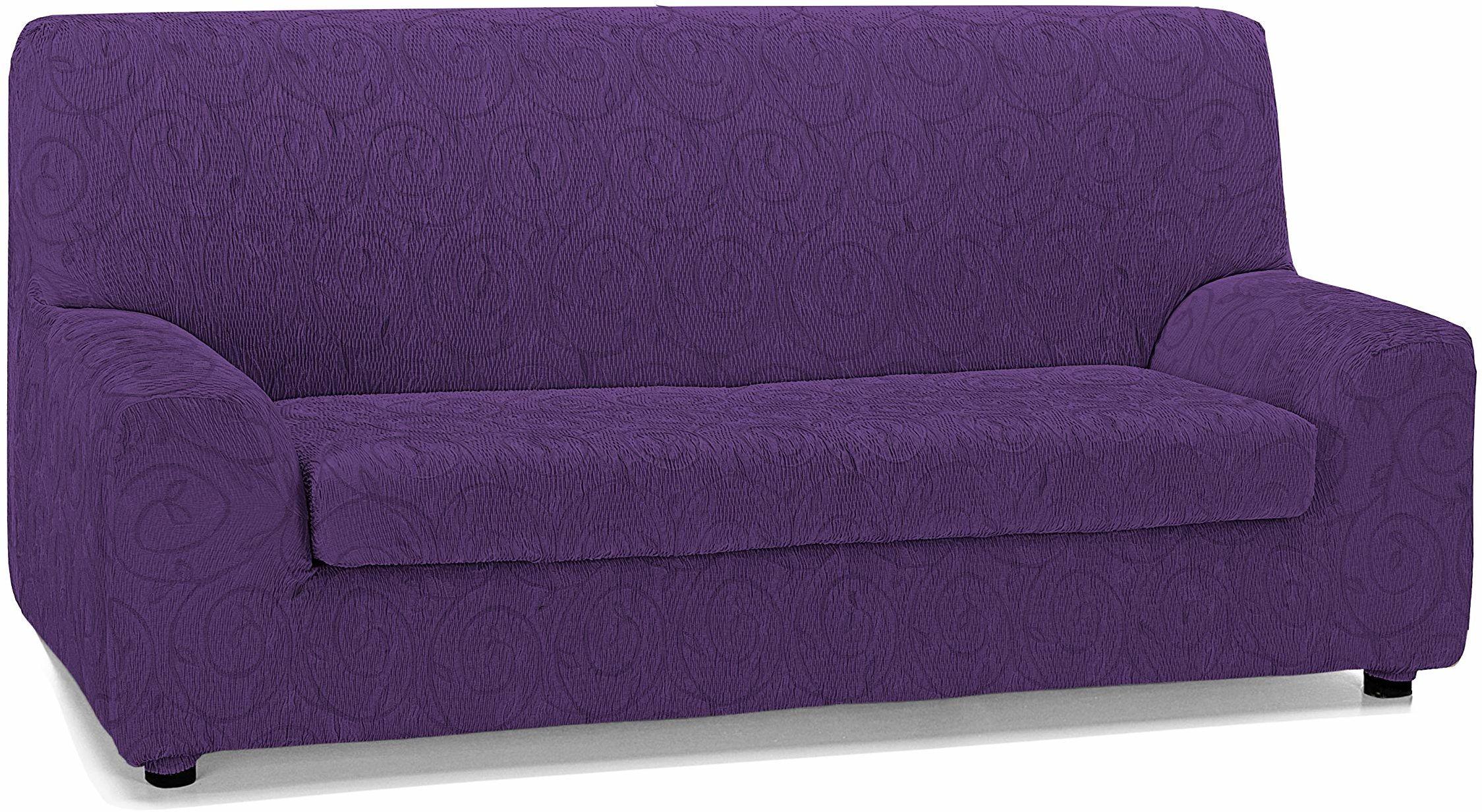 Martina Home Narzuta na sofę 3-osobową, fioletowa