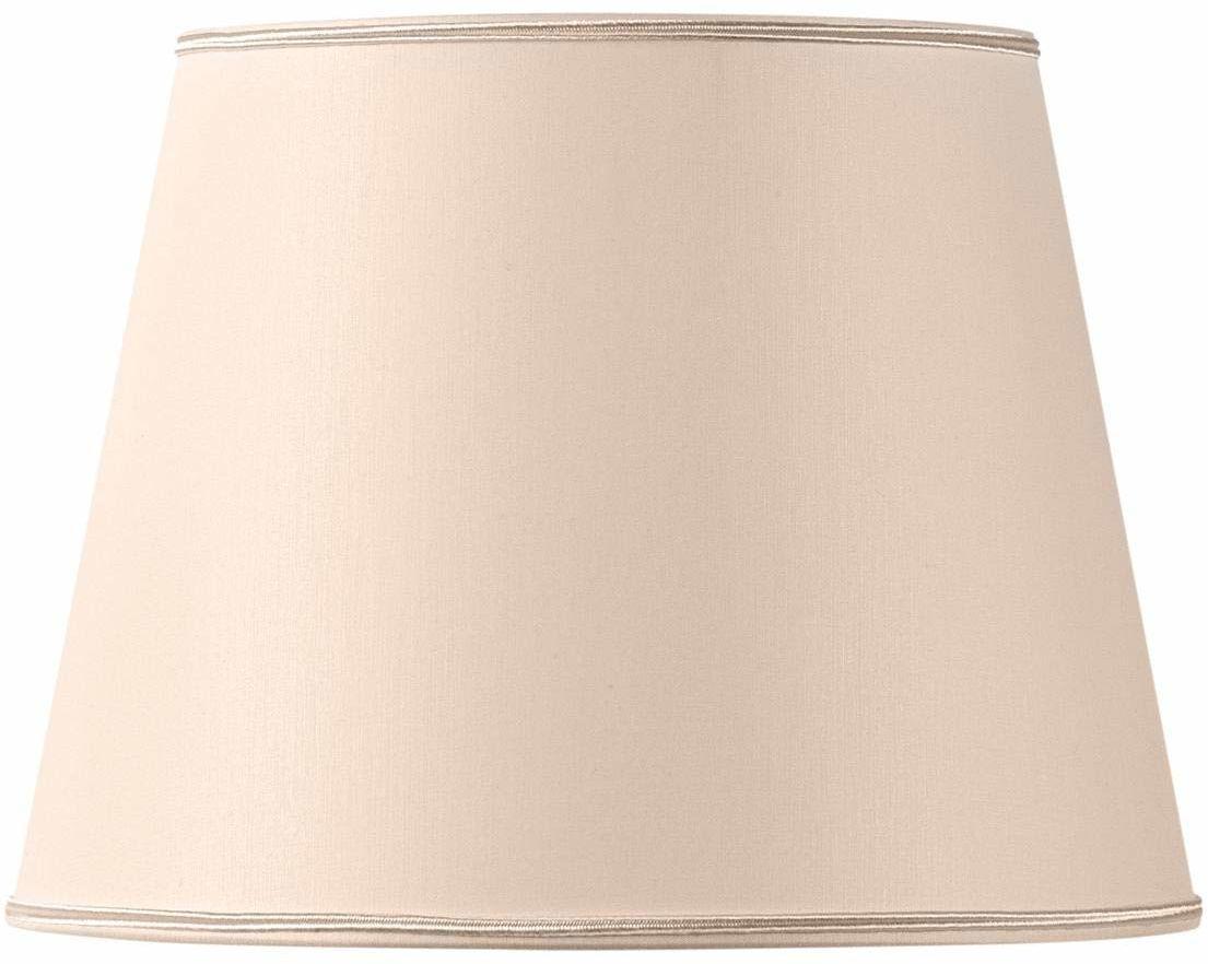 Klosz lampy, kształt Empire Ø 30 x 21 x 22 cm, beżowy, różowy