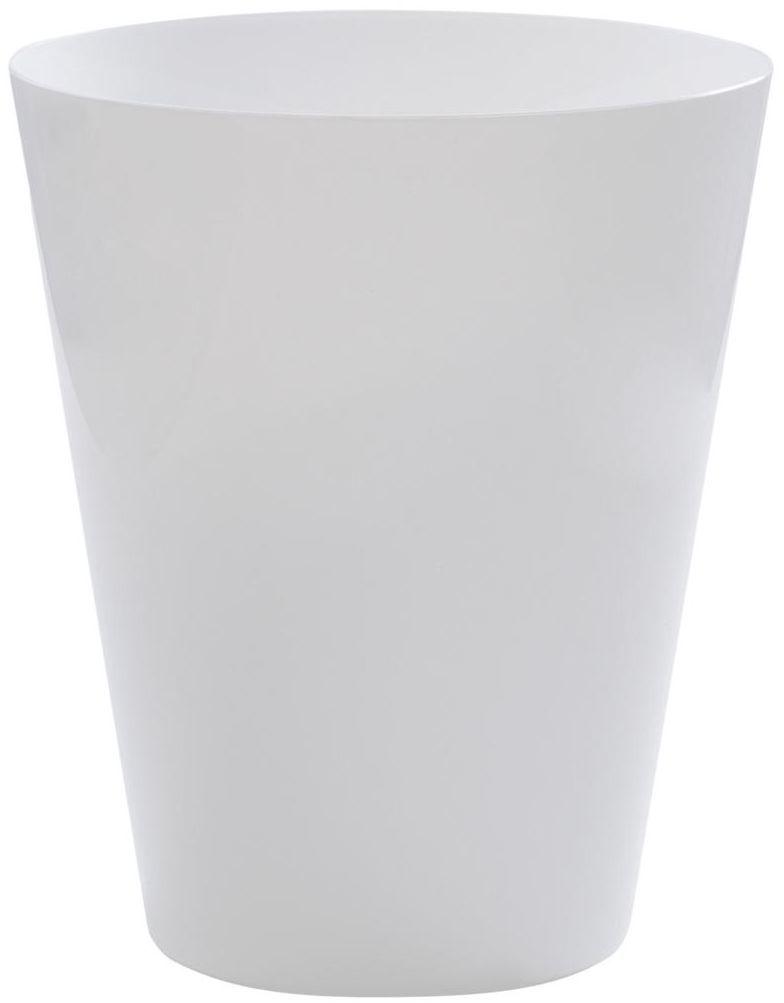 Osłonka do storczyka 12.7 cm plastikowa biała VULCANO