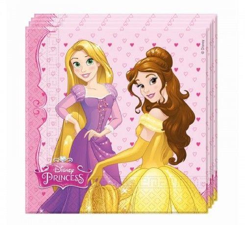 Serwetki papierowe Disney Princess Dreaming, 20 szt.