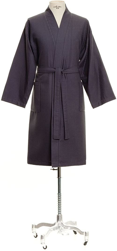 Möve Homewear kimono pika waflowa w rozm. XL ze 100% bawełny, grafitowa