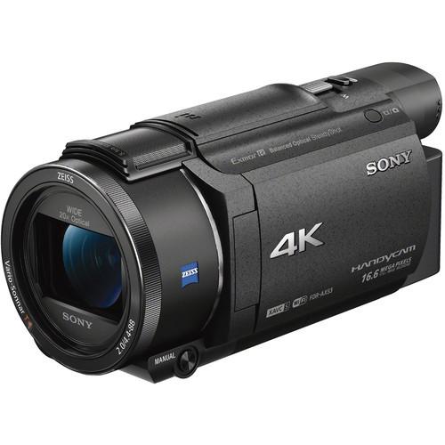 Sony FDR-AX53 - kamera Handycam 4K z przetwornikiem obrazu CMOS Exmor R Sony FDR-AX53