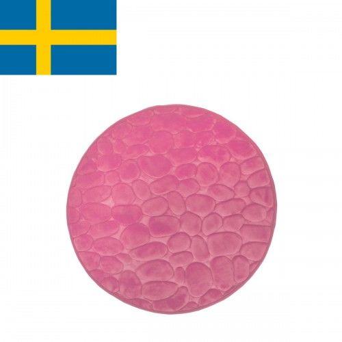 Dywanik łazienkowy Różowy, fi 60cm