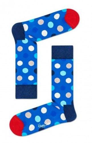 Happy Socks skarpetki BDO01-6501 R.41-46 KROPKI GRANAT
