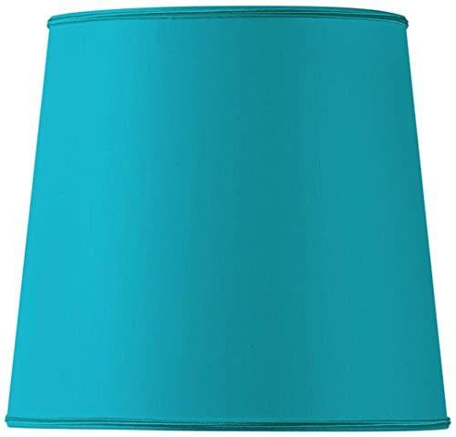 Klosz lampy w kształcie litery U, 40 x 31 cm, turkusowy