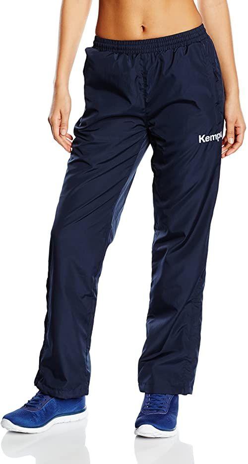 Kempa damskie spodnie prezentacyjne niebieski morski X-L