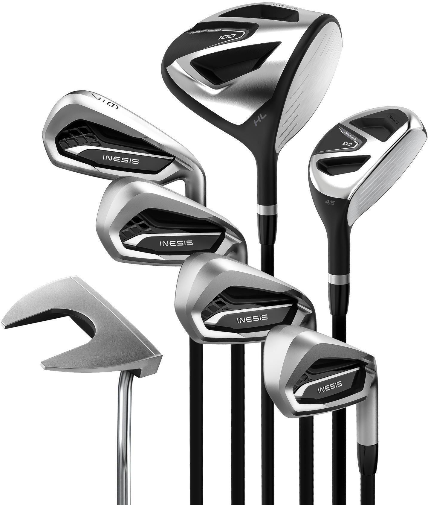 Zestaw 7 kijów do golfa 100 dla praworęcznych rozmiar 2