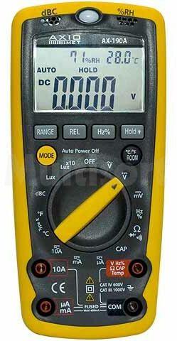 Multimetr cyfrowy AX-190A LCD