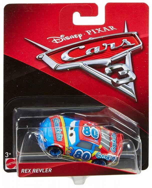 Mattel - Auta 3 Cars Rex Revler DXV56