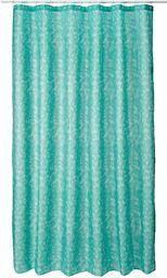 Spirella Zasłona tekstylna drobna miętowa 180 x 200 1233960, biała, Estandar