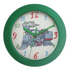 Zegar ścienny kolor lokomotywa